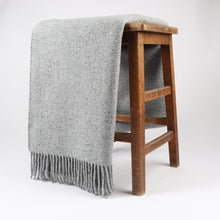 Load image into Gallery viewer, Lomond has a classic Donegal yarn characteristic complimented by a twill design. Woven with 100% Merino Wool at the Bute Fabrics mill, this throw has a luxurious handle making it ideal for a cosy interior.