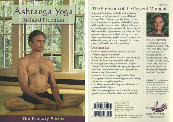 Ashtanga Yoga Primary Series DVD - Richard Freeman