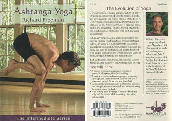 Ashtanga Yoga Intermediate Series DVD - Richard Freeman