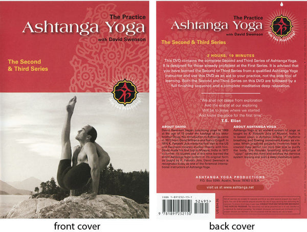 2nd and 3rd Series DVD - David Swenson