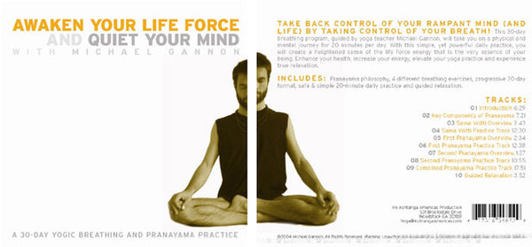 Awaken Your Life Force and Quiet Your Mind CD - Michael Gannon