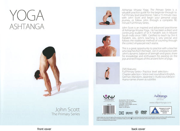 Ashtanga Yoga Primary Series with John Scott DVD