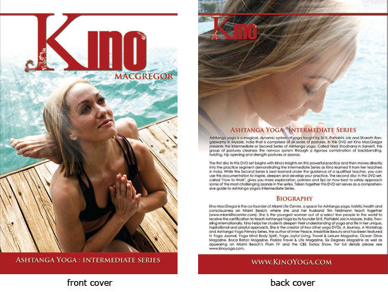 Ashtanga Yoga Intermediate Series with Kino MacGregor DVD