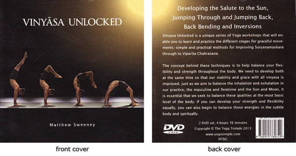Vinyasa Unlocked DVD - Matthew Sweeney