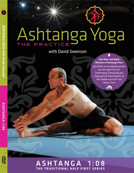 Ashtanga 1:08 - The Traditional Half First Series DVD - David Swenson