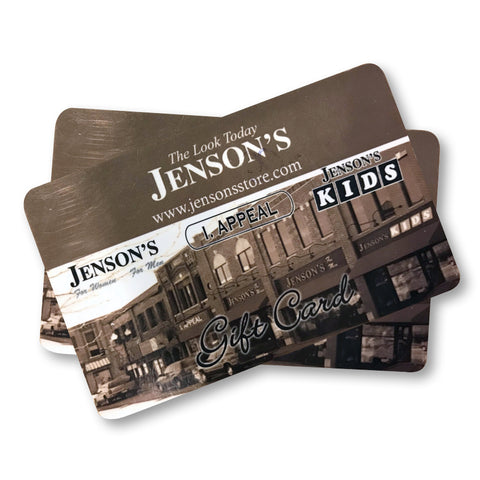 Jenson's / I. Appeal Gift Card