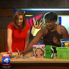 O Yeah Gifts resin ceramic stone planter pottery Treasure Vessels featured on Fox 4 News