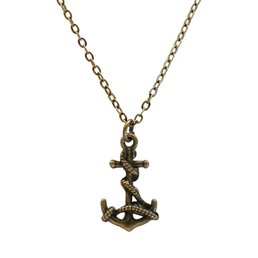 Antiqu Bronze Anchor Charm