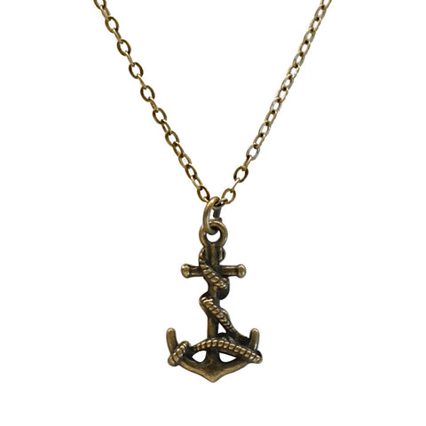 Anchor Charm Necklace | O Yeah Gifts!