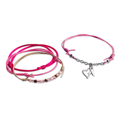 Awareness Bracelets - 4 Piece Set - O YEAH GIFTS