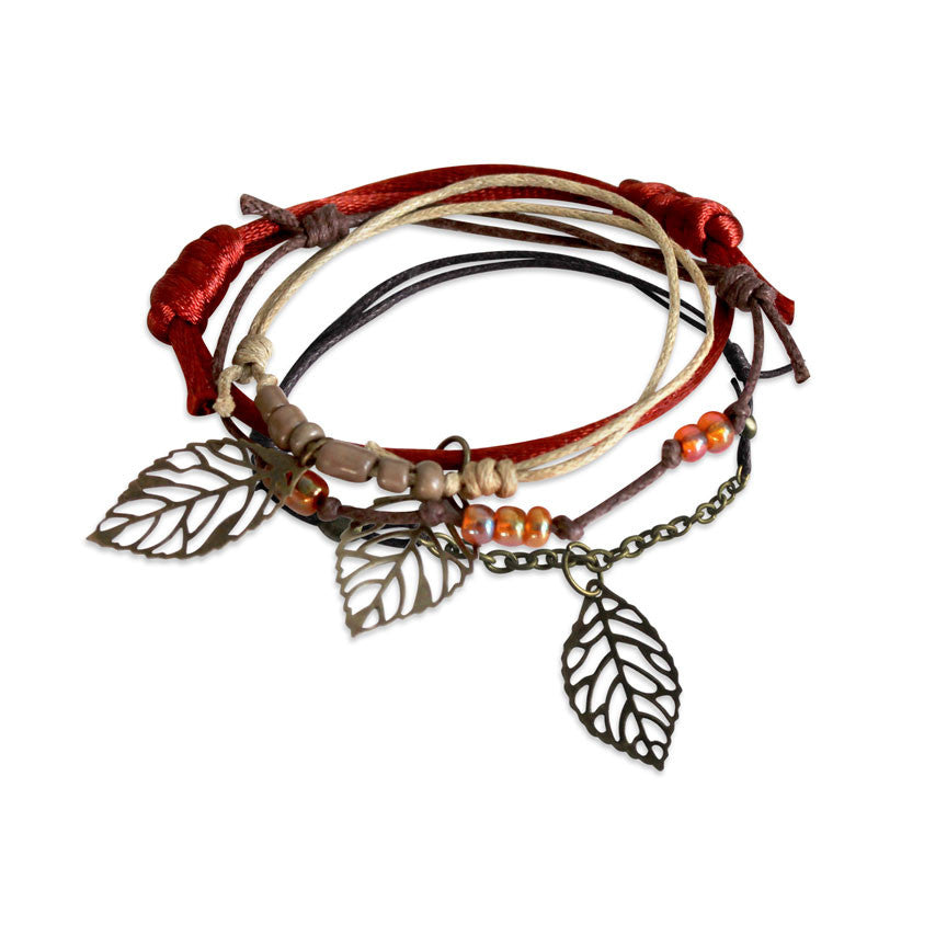 Autumn Charm Bracelet Set