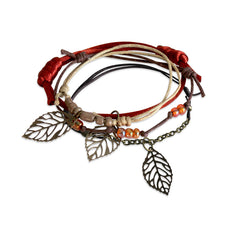 Autumn Leaves Bracelet - 4 Piece Set - O YEAH GIFTS