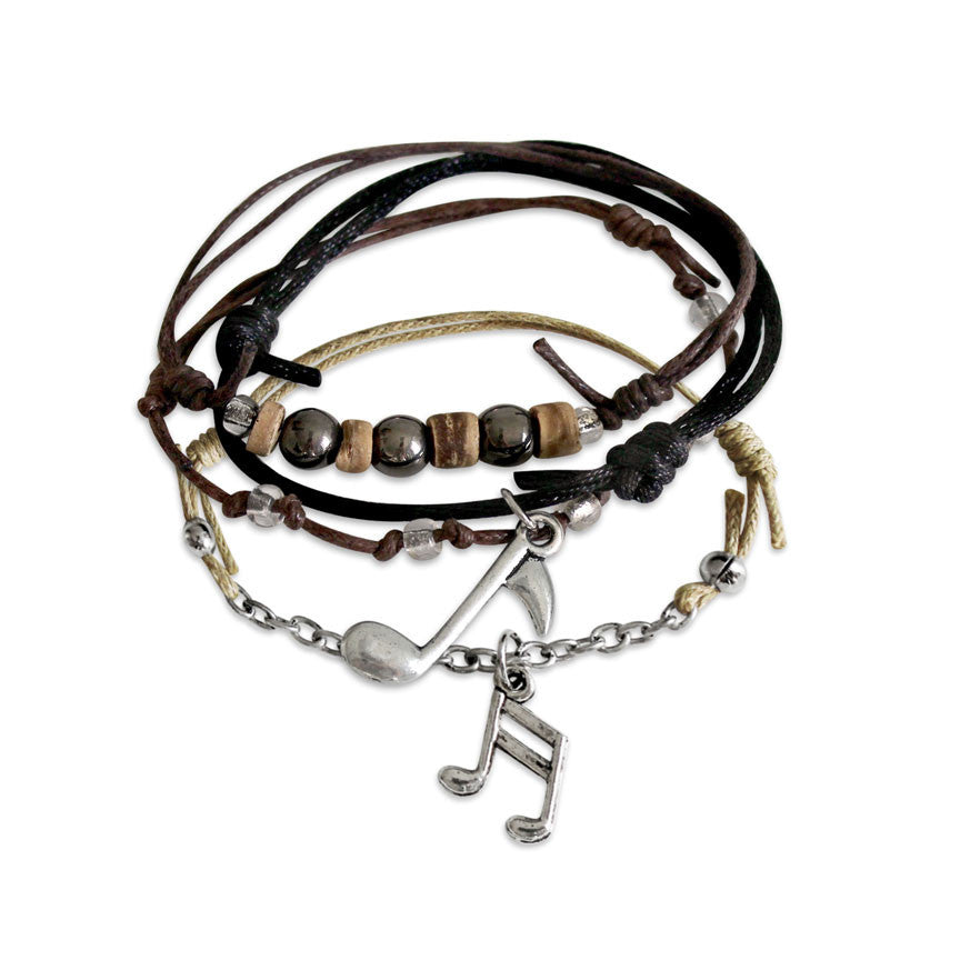 Music Note Bracelets | O Yeah Gifts!