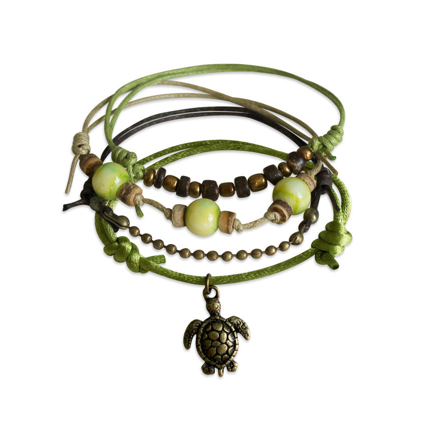 Green Sea Turtle Bracelet - O Yeah Gifts!