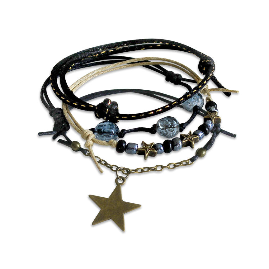 Star Gaze Bracelets - 4 Piece Set