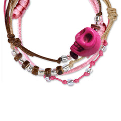 Sugar Skull Bracelets - 4 Piece Set - O YEAH GIFTS