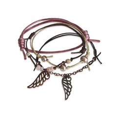 Wings Bracelets - 4 Piece Set