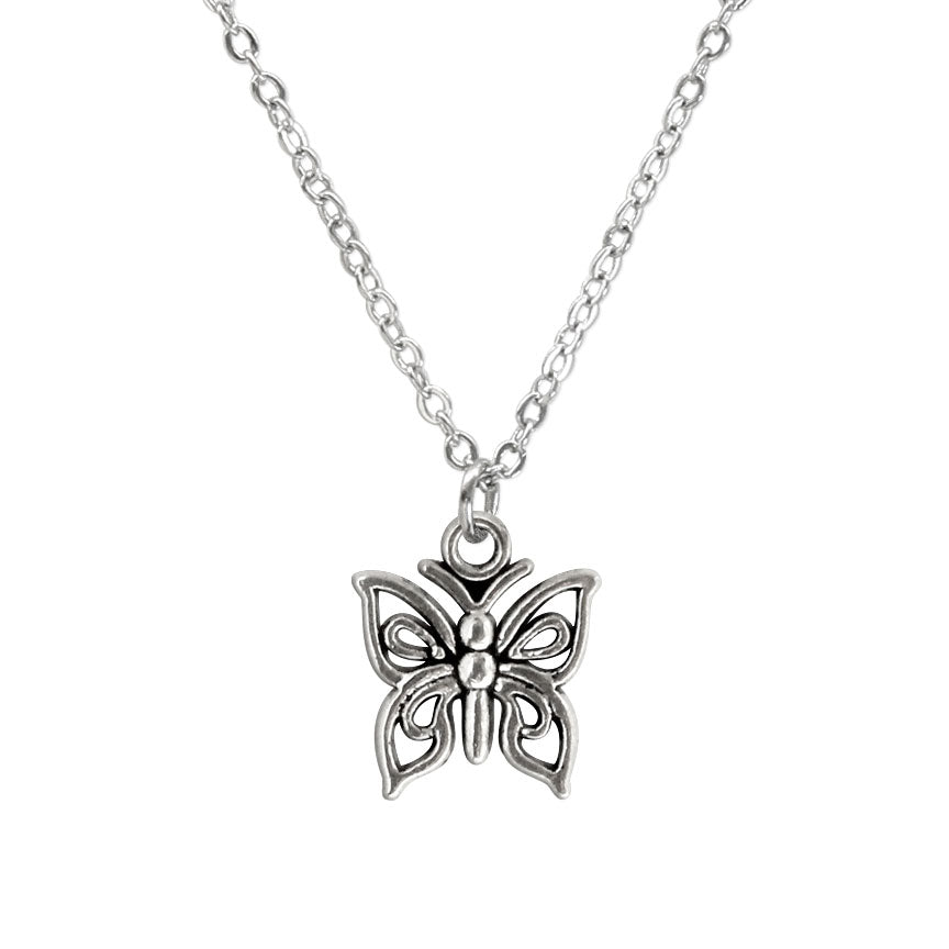 Butterfly Charm Necklace made by O Yeah Gifts!