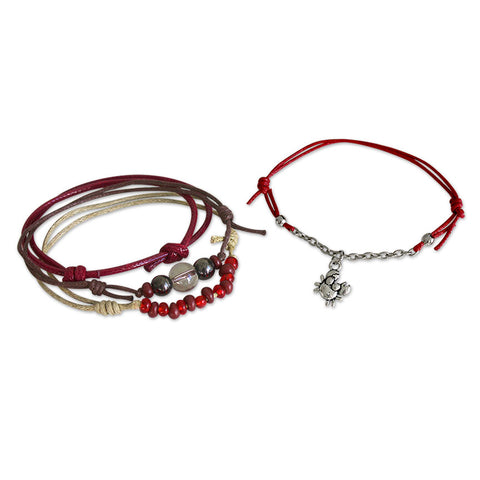 Crab Bracelets - 4 Piece Set - O YEAH GIFTS