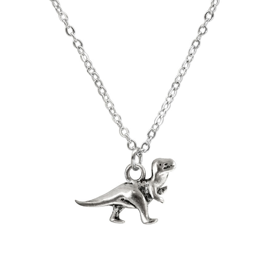 Dinosaur Charm Necklace made by O Yeah Gifts!