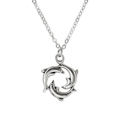 Dolphin Ring Necklace - O Yeah Gifts!