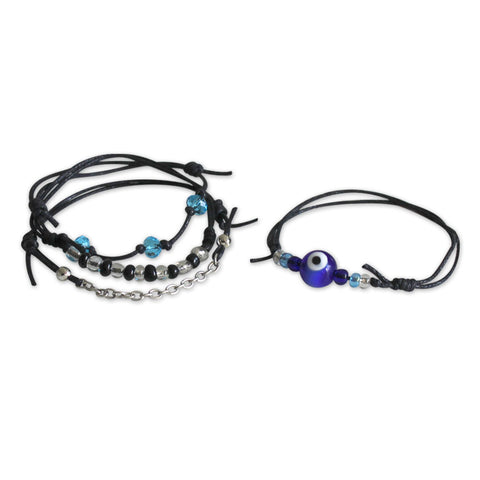 Evil Eye Bracelets - 4 Piece Set - O YEAH GIFTS