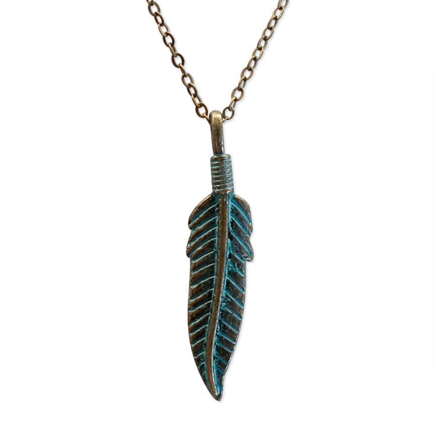 Feather Necklace | O Yeah Gifts!
