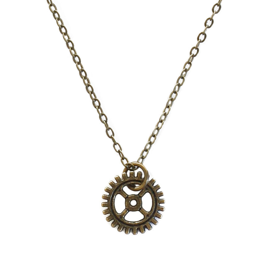 Gear Necklace | O Yeah Gifts!
