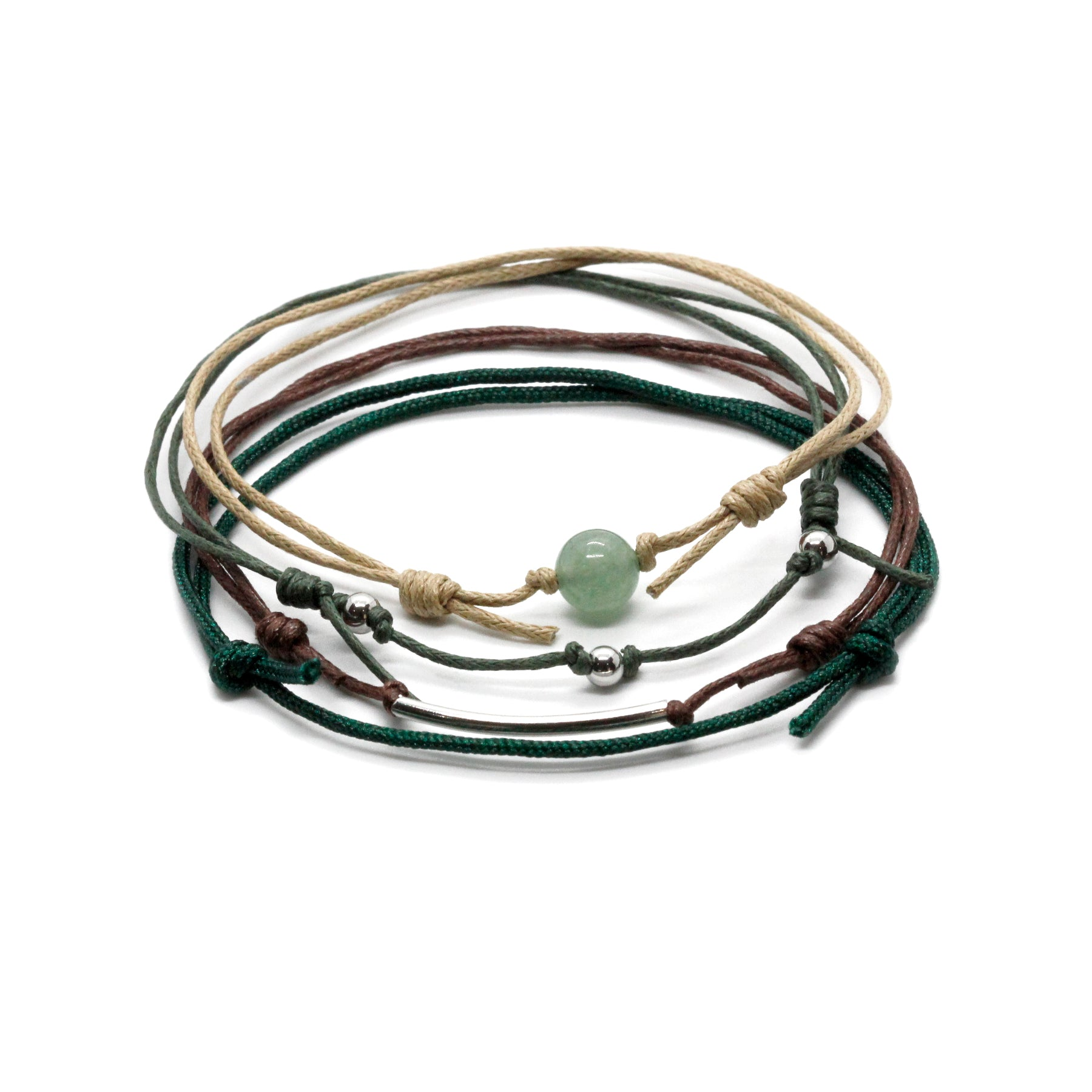 Aventurine Gemstone Anklet - 4 Piece Set - O Yeah Gifts!