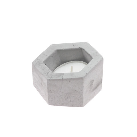 Hexagon Holders are handmade pottery pieces are the perfect size for tea light candles. Hexagon pottery is made in the USA by O Yeah Gifts!