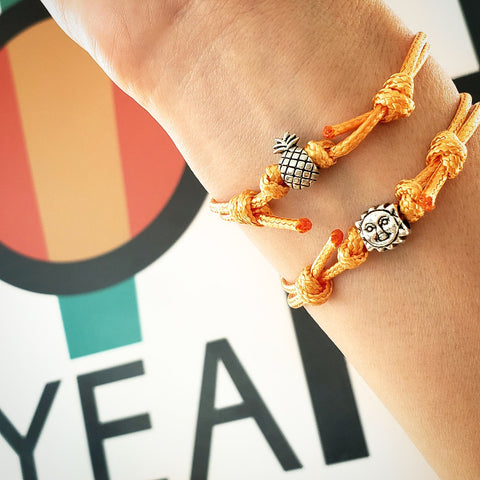 Pineapple Charm Bracelet - O Yeah Gifts!