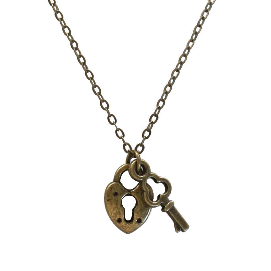 Lock & Key Necklace | O Yeah Gifts!