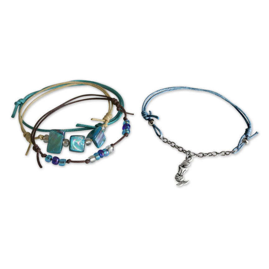 Mermaid Bracelets - 4 Piece Set | O Yeah Gifts!