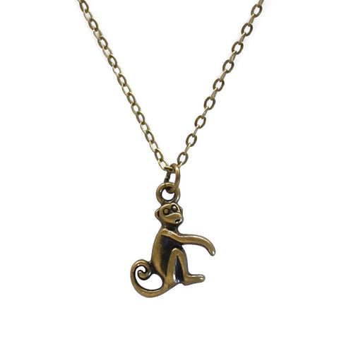 Monkey Necklace - O Yeah Gifts!