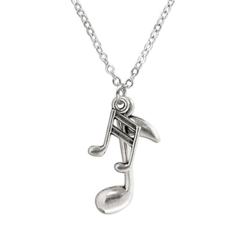 Music Notes Necklace - O Yeah Gifts!