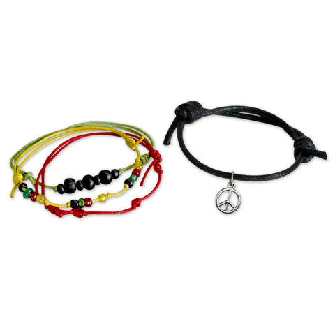 Peace Bracelets - 4 Piece Set - O YEAH GIFTS
