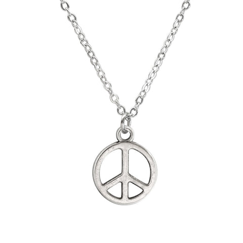 Peace Sign Necklace made by O Yeah Gifts!