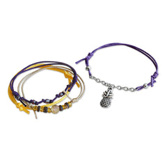 Pineapple Bracelets - 4 Piece Set