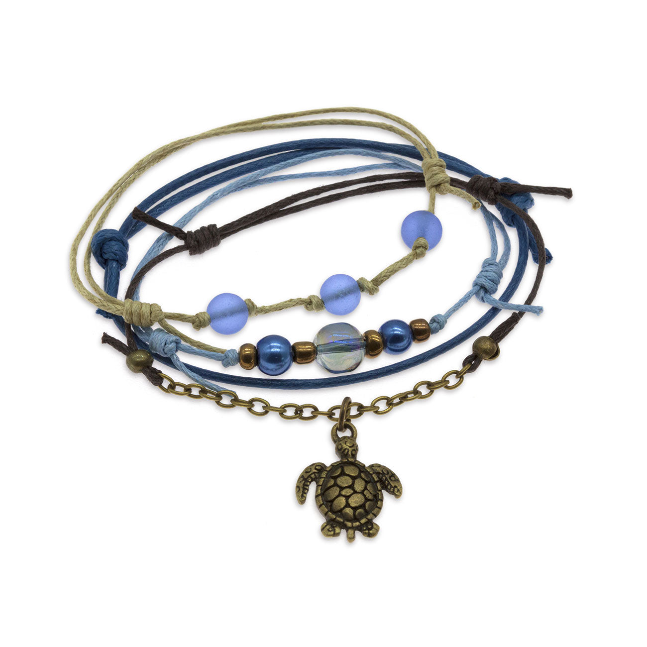 Blue Sea Turtle Bracelet | O Yeah Gifts!