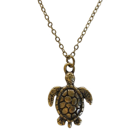 Sea Turtle Necklace - O YEAH GIFTS