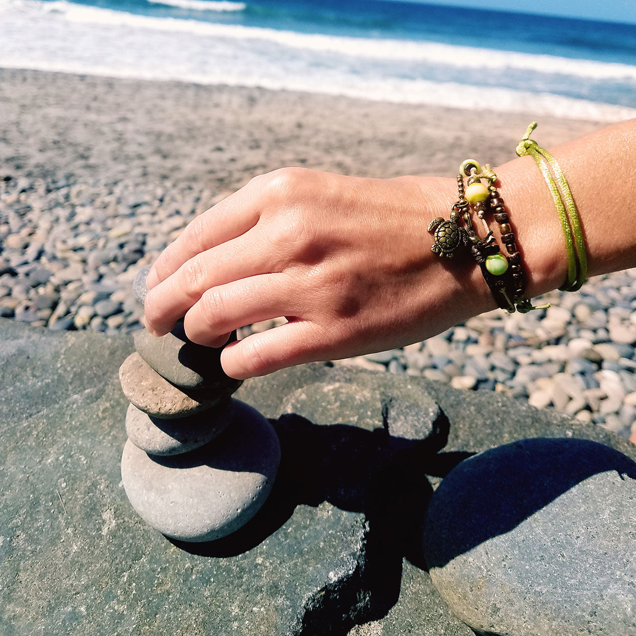 Green Sea Turtle Bracelet | O Yeah Gifts!