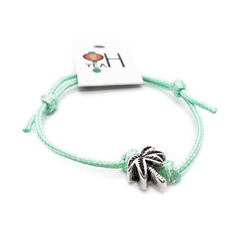 Palm Tree Charm Bracelet - O YEAH GIFTS