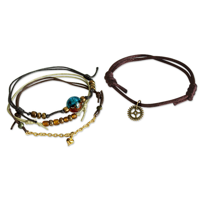 Steampunk Bracelets - 4 Piece Set | O Yeah Gifts!