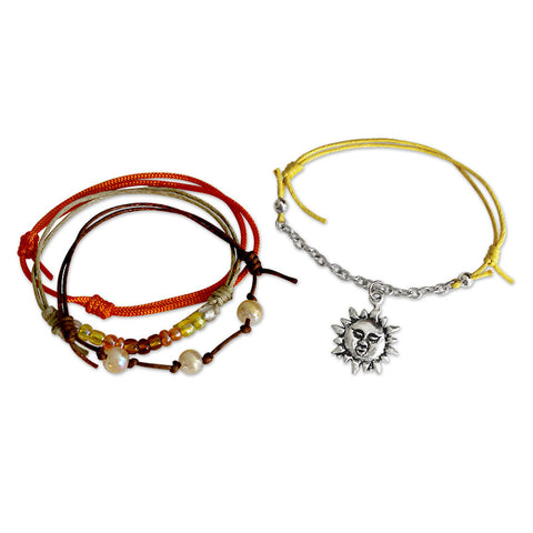 Sunshine Bracelets - 4 Piece Set - O YEAH GIFTS