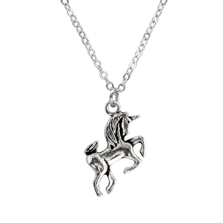 Unicorn Charm Necklace made by O Yeah Gifts!