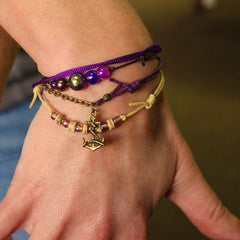 Anchor Bracelets - 4 Piece Set - O YEAH GIFTS