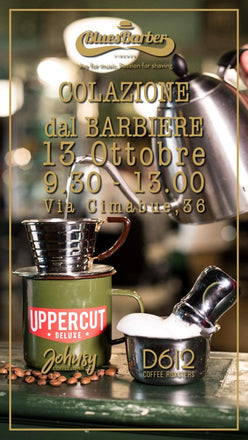 Breakfast | barber shop | event