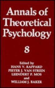 Annals of Theoretical Psychology: Volume 8