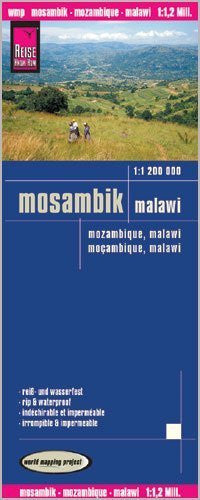 Malawi & Mozambique 1,200,000 Travel Map, waterproof, GPS-compatible REISE, 2012 edition by Reise Knowhow (2012-05-03)
