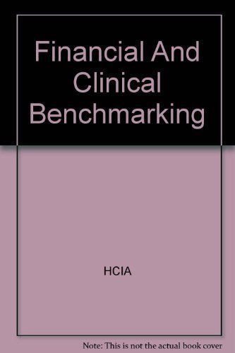 Financial And Clinical Benchmarking